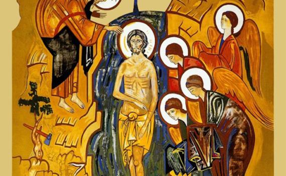 Chrzest Jezusa w Jordani