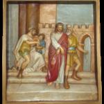Stacja 1 Pan Jezus na śmierć skazany