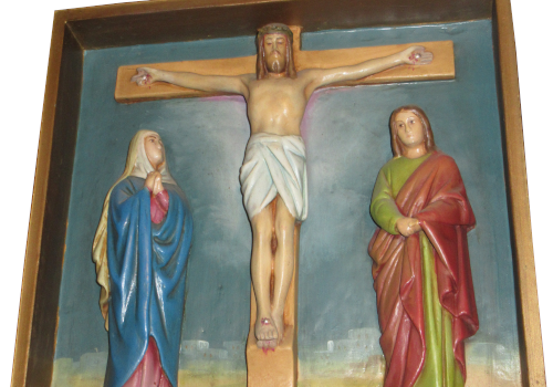 Stacja 12 Pan Jezus umiera na krzyżu