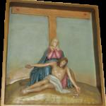 Stacja 13 Pan Jezus zdjęty z krzyża