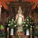ołtarz figura NMP Królowej
